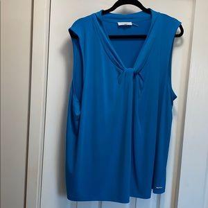 Calvin Klein sleeveless blouse 2X